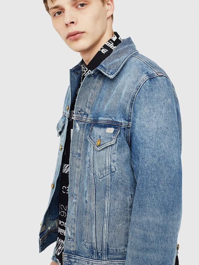 Diesel - D-BRAY, Blue Jeans - Denim Jackets - Image 3