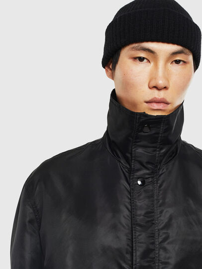 Diesel - J-R-LONG, Black - Jackets - Image 3