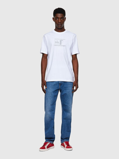 Diesel - T-JUST-A35, White - T-Shirts - Image 4