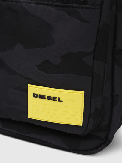Diesel - F-DISCOVER BACK, Black/Yellow - Backpacks - Image 5