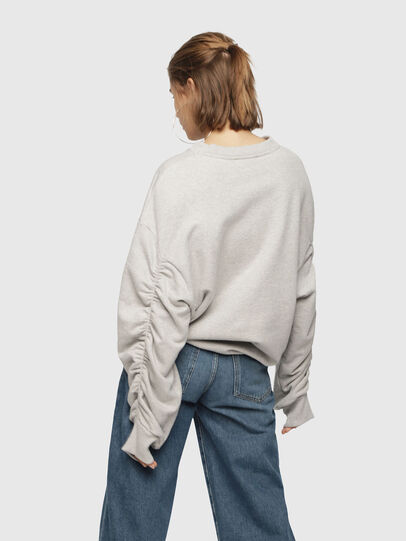 Diesel - F-ARAP, Light Grey - Sweaters - Image 2