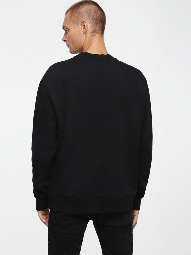 Diesel - S-ELLIS-CL, Black - Sweaters - Image 2