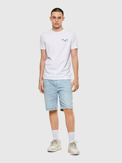 Diesel - T-DIEGOS-K41, White - T-Shirts - Image 4