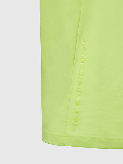 Diesel - T-MOONY-X2, Green Fluo - T-Shirts - Image 4