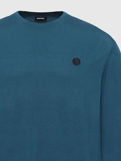 Diesel - K-CROFT, Water Green - Knitwear - Image 3