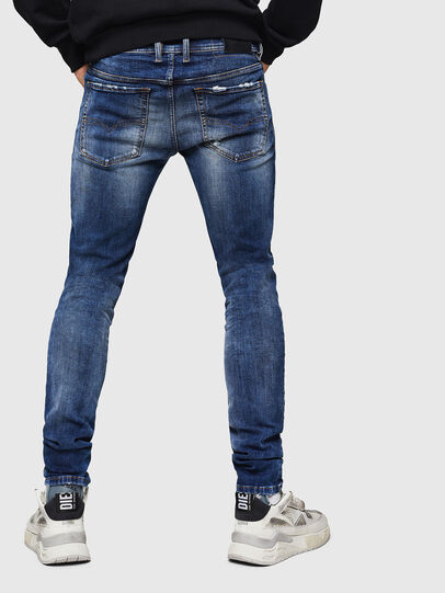 Diesel - Sleenker 069HQ, Medium blue - Jeans - Image 2