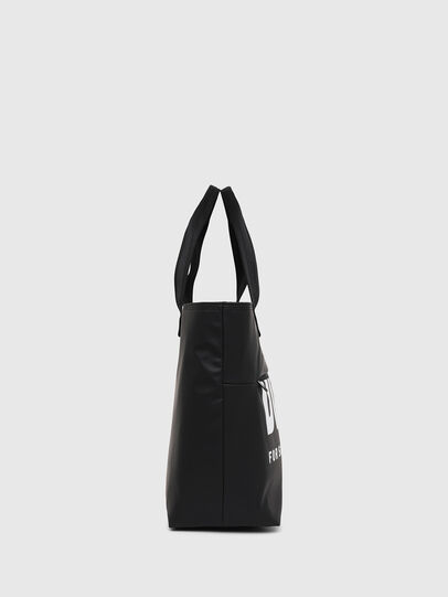 Diesel - F-BOLD SHOPPER III, Black - Shopping and Shoulder Bags - Image 3