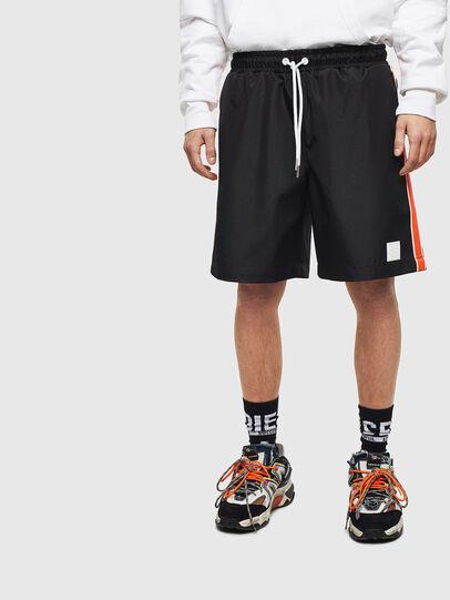 Diesel - P-KEITH, Black - Shorts - Image 1