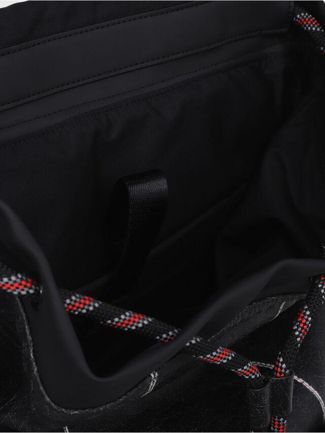 Diesel - VOLPAGO BACK, Anthracite - Backpacks - Image 3