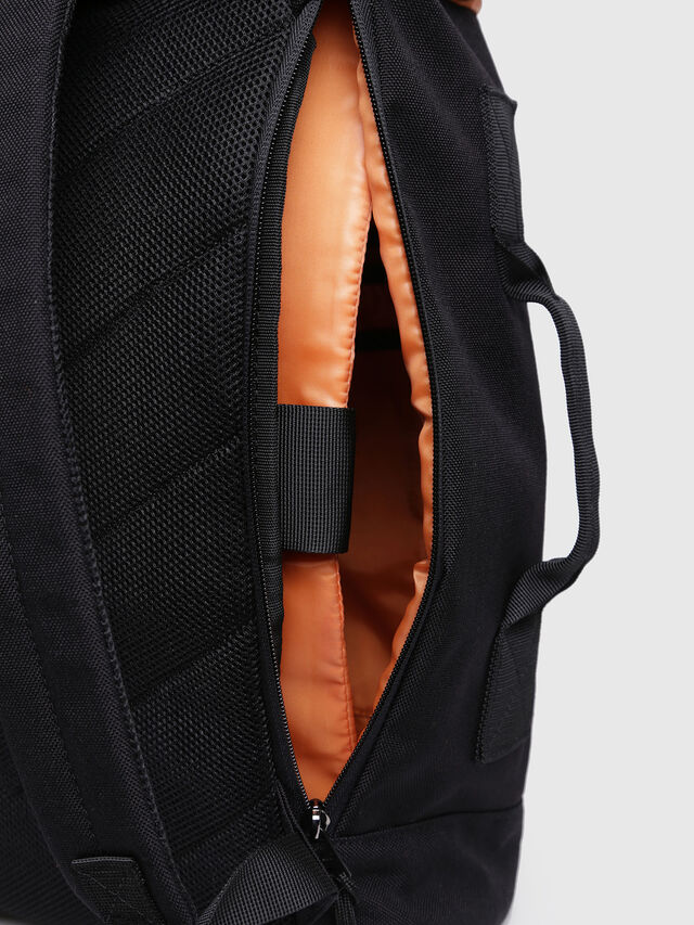 Diesel - F-URBHANITY BACK II, Opaque Black - Backpacks - Image 3