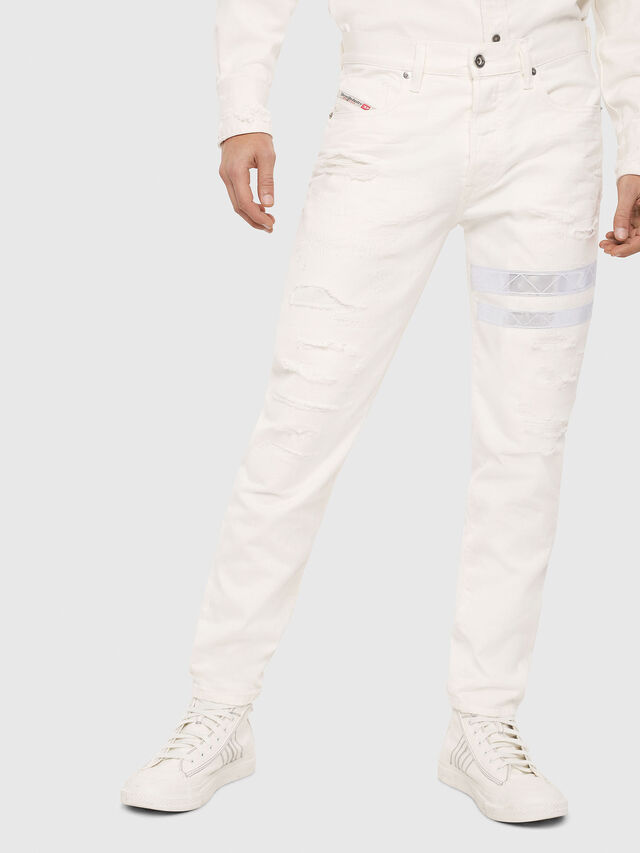 Diesel - Mharky 069EC, White - Jeans - Image 1