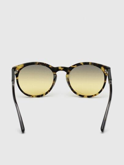 Diesel - DL0310, Black/Yellow - Sunglasses - Image 4