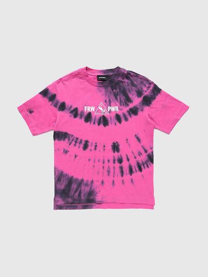 Diesel - TJUSTSLITSX86 OVER, Pink - T-shirts and Tops - Image 1
