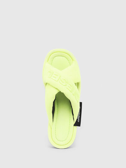 Diesel - SA-MERY X, Yellow Fluo - Slippers - Image 6