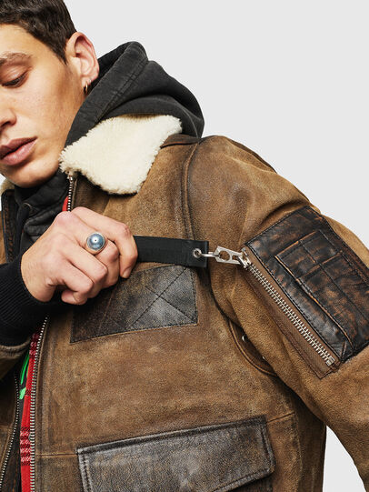Diesel - L-OIUKIRO,  - Leather jackets - Image 5