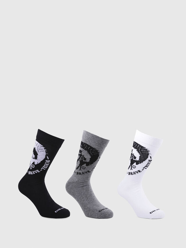 Diesel - SKM-RAY-THREEPACK, Multicolor - Socks - Image 1