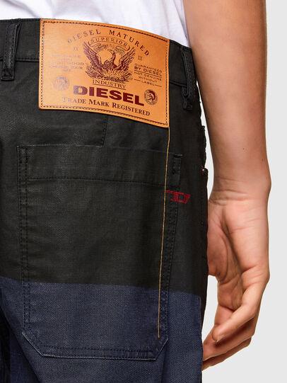 Diesel - D-Azerr JoggJeans® 0DDAY, Dark Blue - Jeans - Image 4