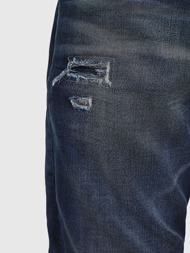 Diesel - Krooley JoggJeans 069GZ, Dark Blue - Jeans - Image 3