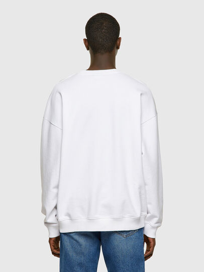 Diesel - S-MART-INLOGO, White - Sweaters - Image 2