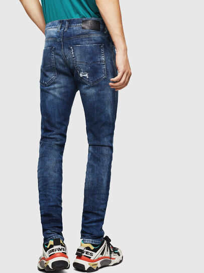 Diesel - Tepphar 0090G, Dark Blue - Jeans - Image 2
