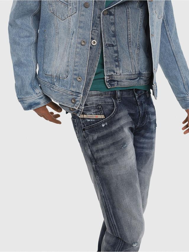Diesel - D-Bazer 084DD, Medium blue - Jeans - Image 5