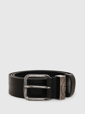 B-FRAG, Black Leather - Belts