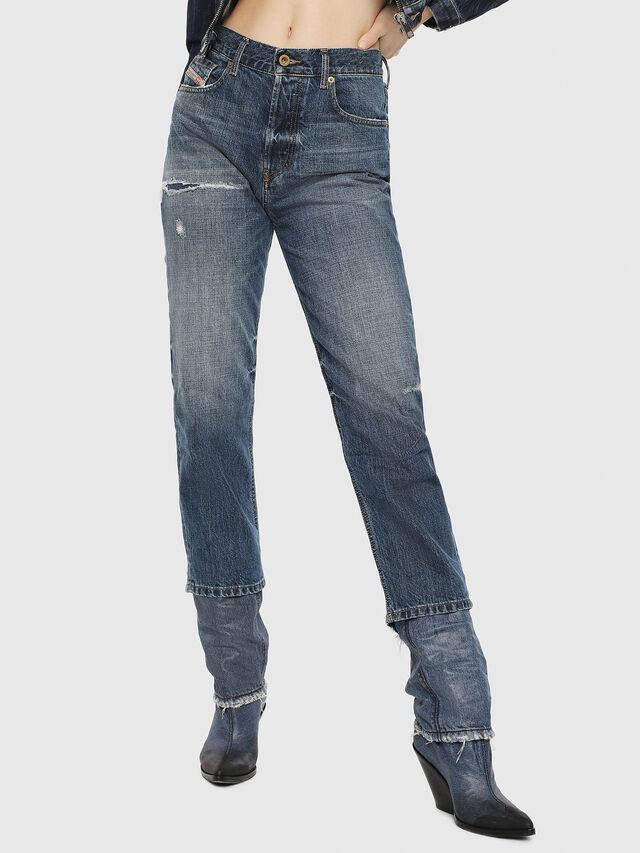 Diesel - Aryel 080AH, Medium blue - Jeans - Image 1