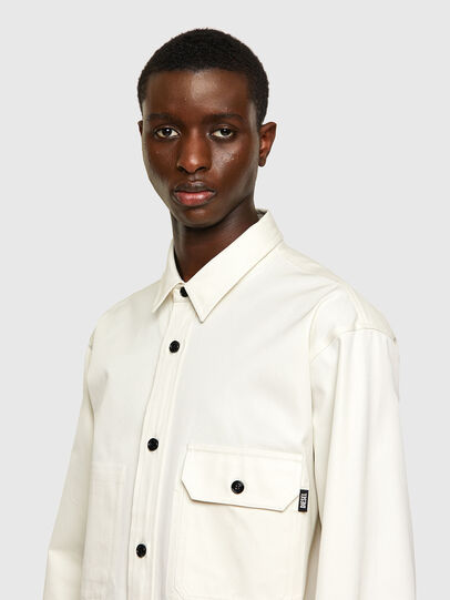 Diesel - S-BUNNELL-A, White - Shirts - Image 3