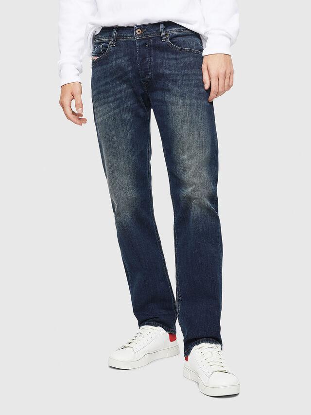 Diesel - Waykee 0814W, Dark Blue - Jeans - Image 1