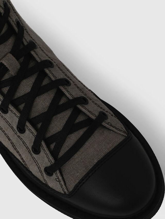 Diesel - H-CAGE DBB, Gray/Black - Boots - Image 5