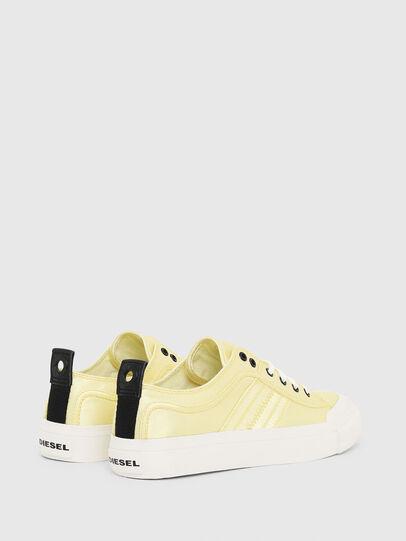 Diesel - S-ASTICO LOW LACE W, Yellow - Sneakers - Image 3