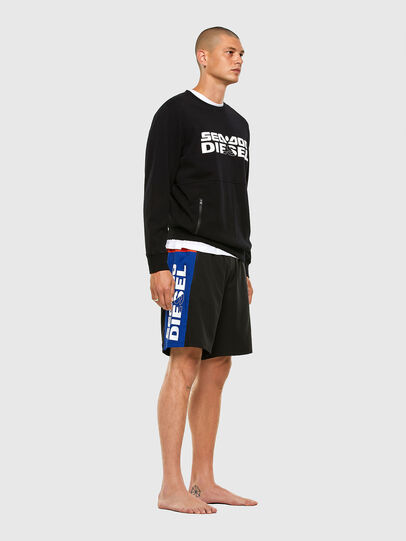 Diesel - BMBX-TUNADOO, Black/Blue - Swim shorts - Image 4