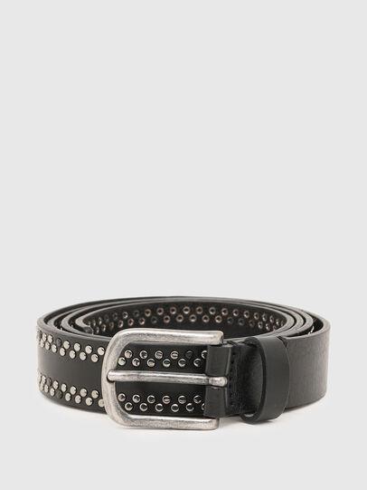 Diesel - B-INARY, Black - Belts - Image 1