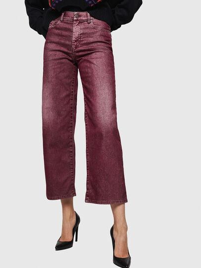 Diesel - Widee 0091T, Burgundy - Jeans - Image 1