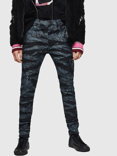 Diesel - D-Amny 0091R, Dark Blue - Jeans - Image 1