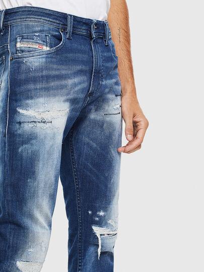 Diesel - Thommer JoggJeans 0099S, Dark Blue - Jeans - Image 3