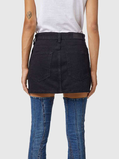 Diesel - DE-EISY, Black - Skirts - Image 4