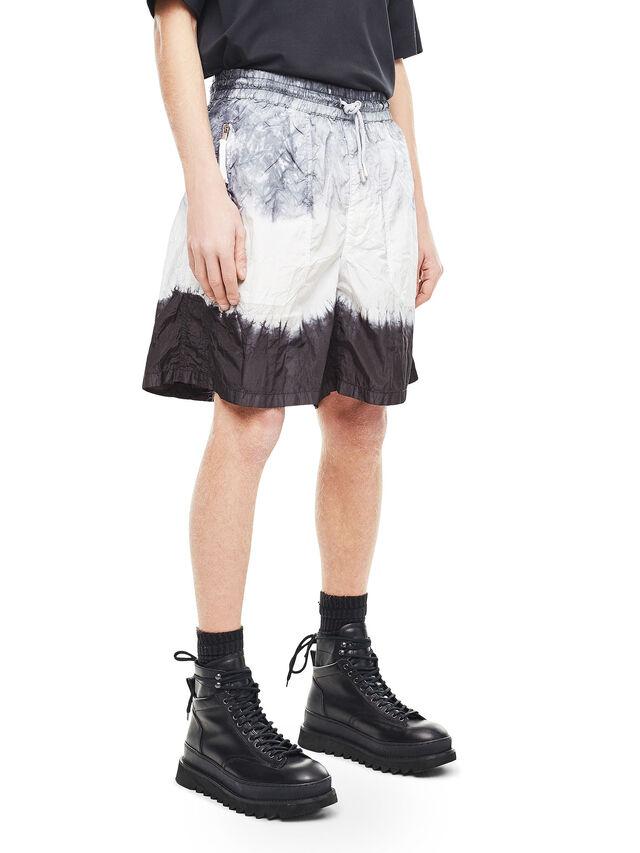 Diesel - PAIDAY, Black/White - Shorts - Image 3
