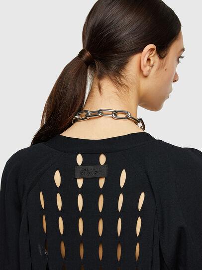 Diesel - M-ONYX, Black - Knitwear - Image 4