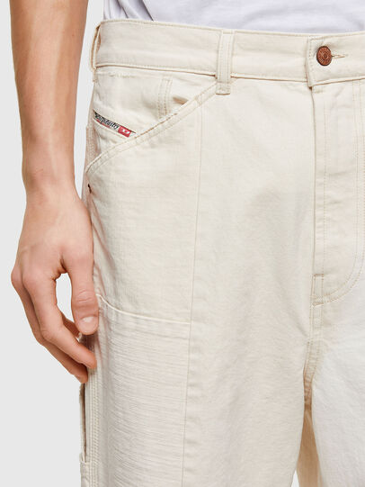 Diesel - D-FRAN-SP1, White - Pants - Image 3