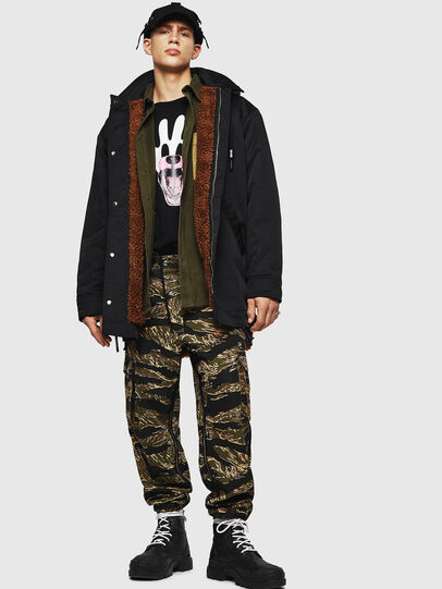 Diesel - W-PELSTIC,  - Winter Jackets - Image 8