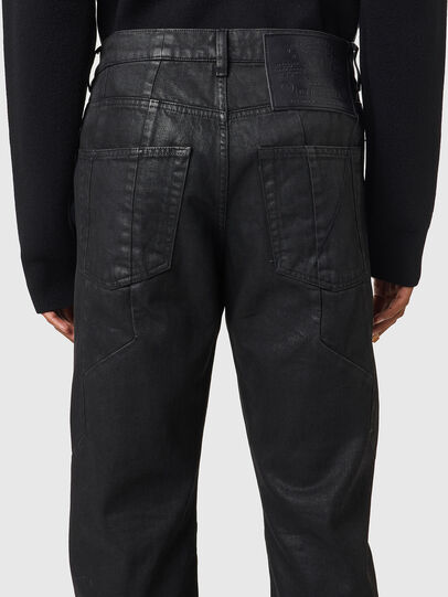 Diesel - D-Kras 0BFAX, Black/Dark grey - Jeans - Image 4