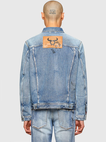 Diesel - CL-D-BIL, Light Blue - Denim Jackets - Image 3