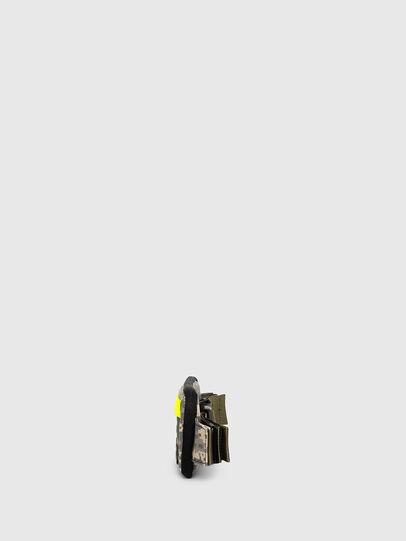 Diesel - BELT RUBBER CASE BIG, Green Camouflage - Continental Wallets - Image 3