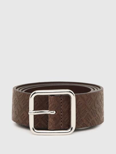 Diesel - B-OMNI, Dark Brown - Belts - Image 1