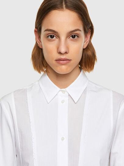 Diesel - C-VOILE, White - Shirts - Image 4