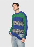K-DANIEL, Blue/Green - Knitwear