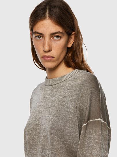 Diesel - M-CALIFORNIA, Light Grey - Knitwear - Image 3