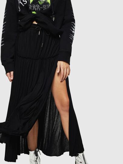 Diesel - O-FRIDA, Black - Skirts - Image 5