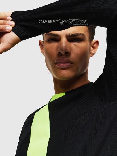 Diesel - K-TAPEX, Black - Knitwear - Image 4